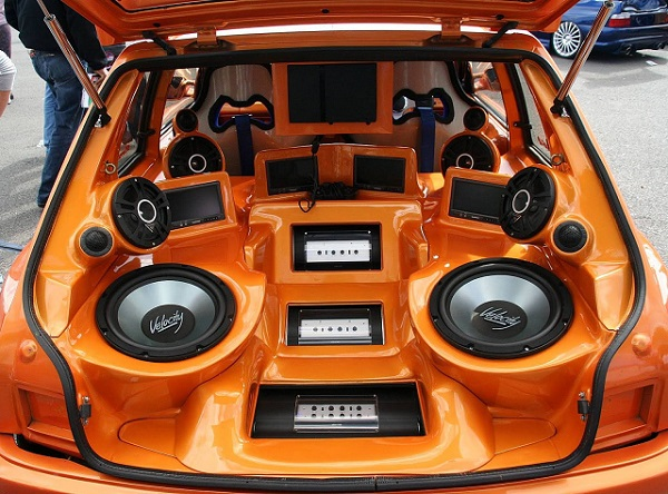 What size speakers are in my car